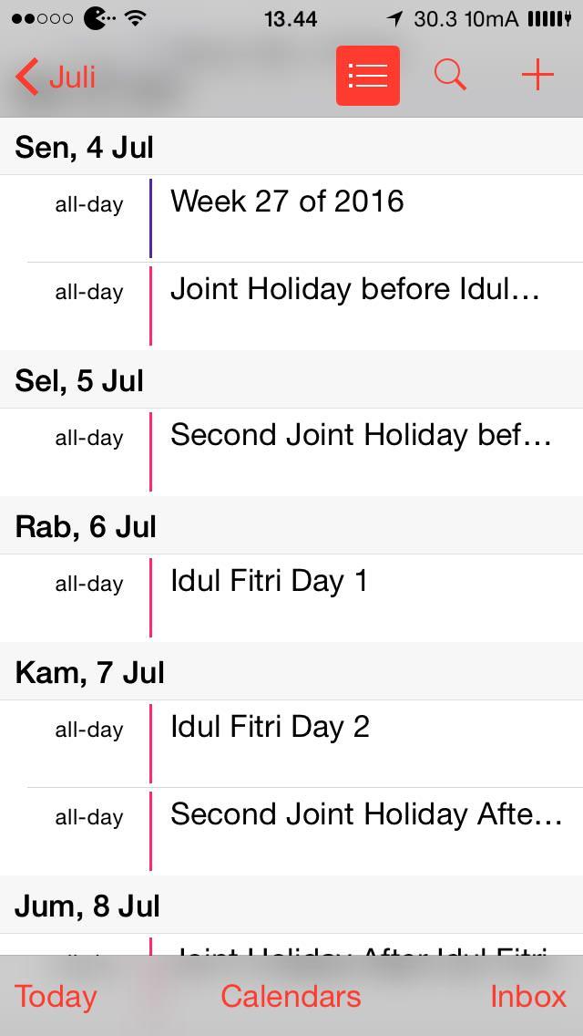 iOS-listday